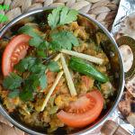 Baingan Bharta or Mashed Eggplant Curry