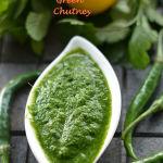 Coriander Mint Chutney or Green Chutney