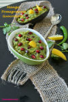 Mango Pomegranate GuacomoleV1n