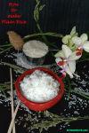 Plain rice V1