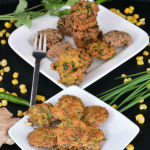 Sweet Corn Oats Masala Vada