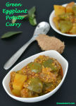 Green Eggplant Potato Curry V1n