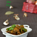 Mushroom Masala Stir Fry