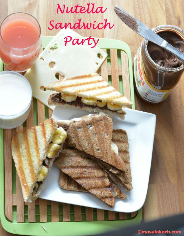 Nutella Sandwich PartyV1