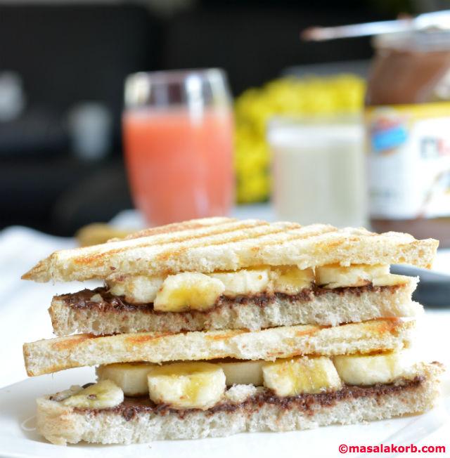 Nutella Sandwich PartyV3
