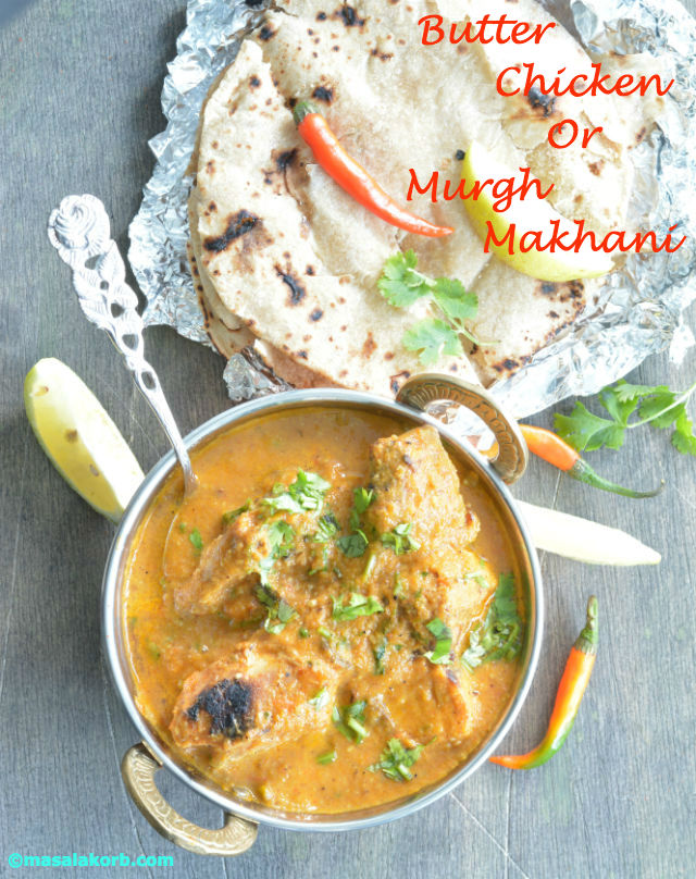 Butter chicken or murgh makhani masalakorb forumfinder Image collections