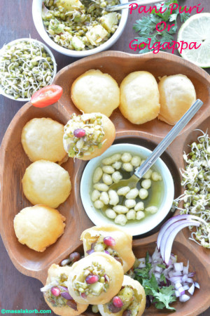 Pani puri or golgappa