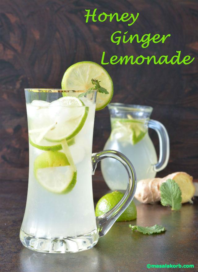 Honey Ginger Lemonade Masalakorb