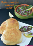 Bhatura recipe without yeast V1