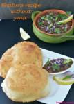 Bhatura recipe without yeast V1