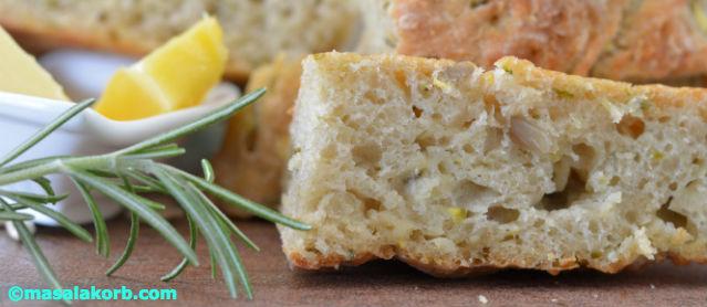 Rustic Rosemary Garlic Infused Zucchini Bread V5