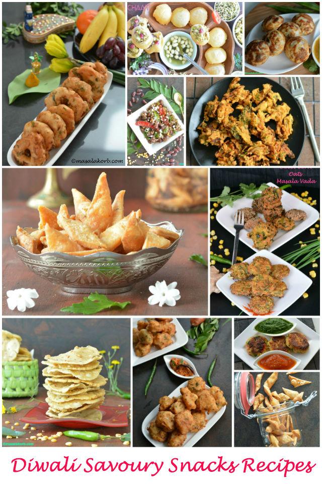 Diwali Savoury Snacks Recipes Masalakorb