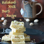 Kalakand Milk Burfi Recipe / Milk Cake Burfi