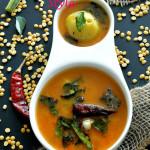 Pappu Charu Andhra Style / Indian Lentil Soup
