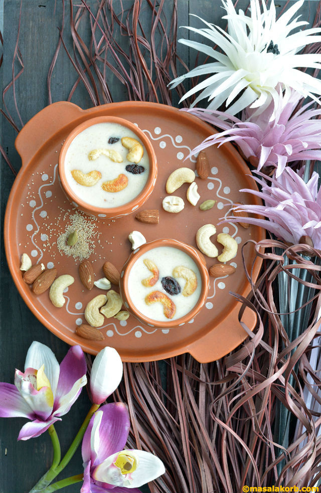 Poppy Seeds Payasam V6