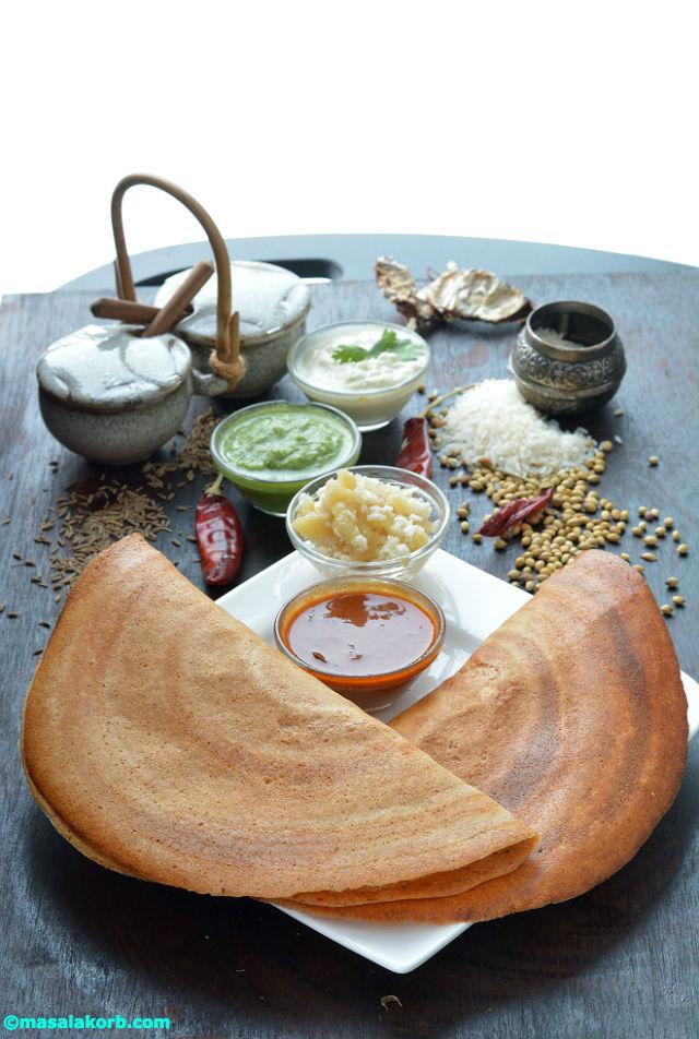Udupi Special Food Uppu Huli Dosa