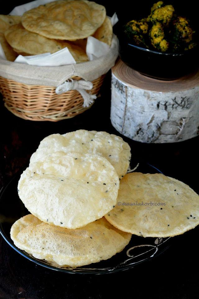 Bengali Luchi Recipe | Luchi Recipe | Maida Poori