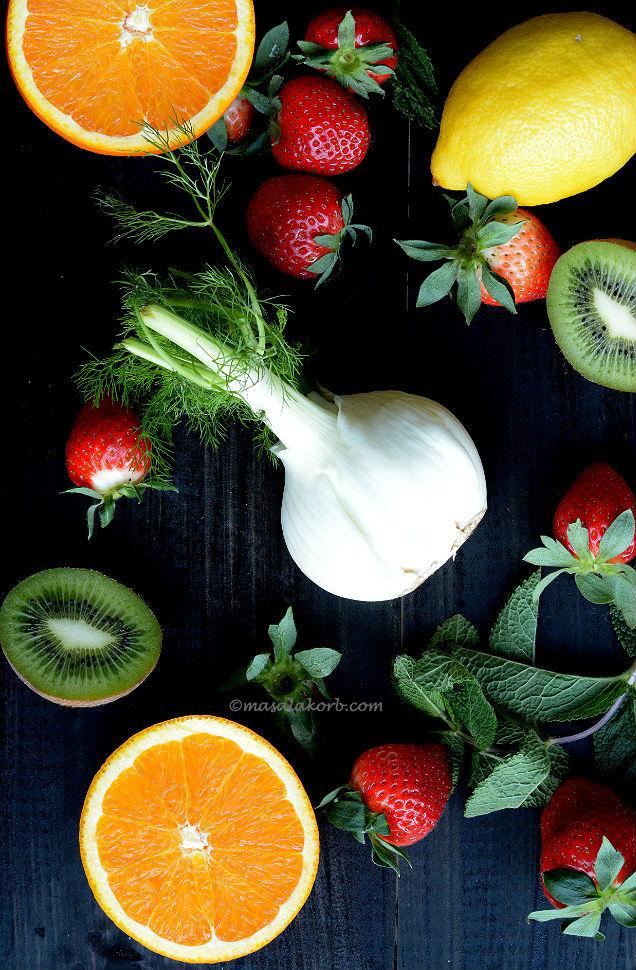 fruits & fennel for Fennel Citrus salad