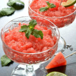 Frozen Watermelon Slush Recipe | Watermelon Lime Slush | How To Make Easy Slushies | Melon Slush Recipes | Summer Drink Recipes