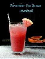 Sea Breeze Mocktail |November Sea Breeze