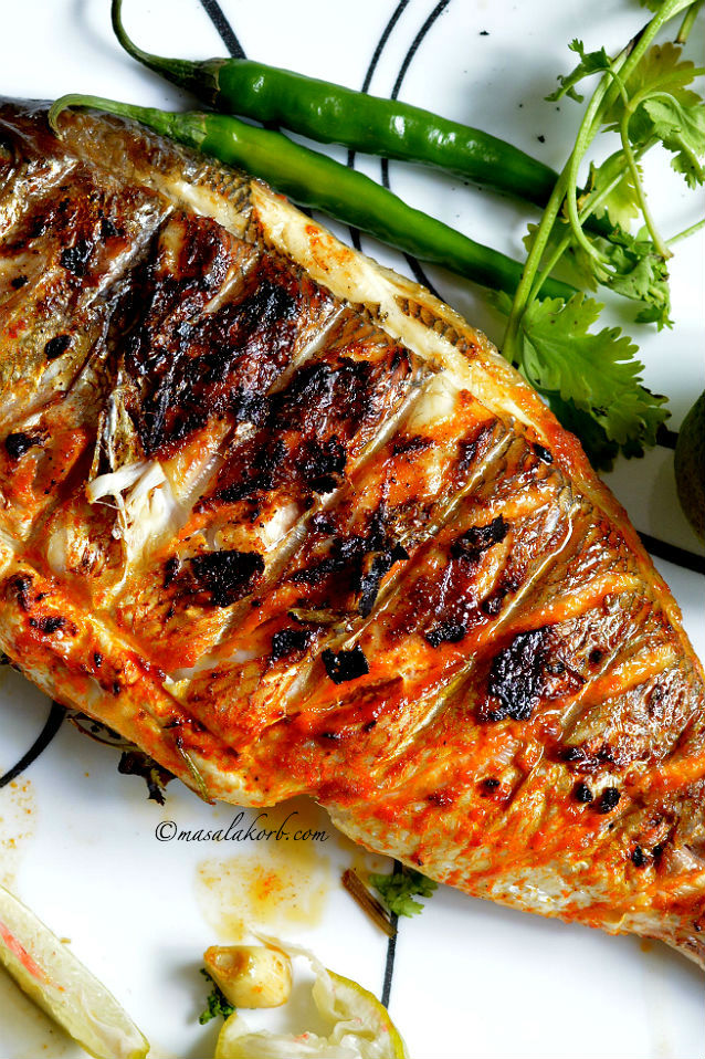 grilled fish indian recipe spicy grilled fish masala