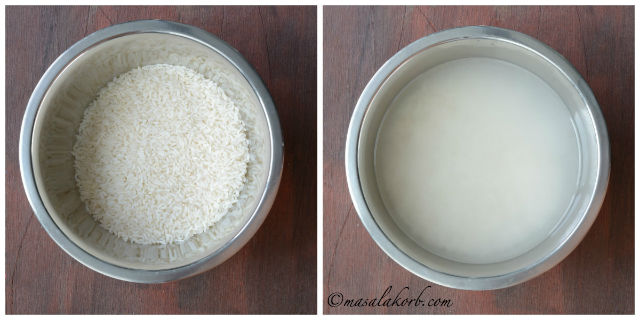 چگونه برای آماده سازی آرد برنج در خانه آرد برنج خانگی | دستور غذا Pacharisi Maavu | بییه پیندی