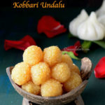 Coconut Poornam Recipe or Kobbari undalu