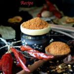 Homemade Pav Bhaji Masala Powder Recipe | How to make Pav Bhaji Masala at Home | Pav Bhaji Masala Recipe