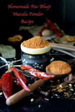 Homemade Pav Bhaji Masala Powder Recipe