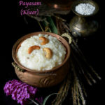 Bellam Paramannam or jaggery rice payasam