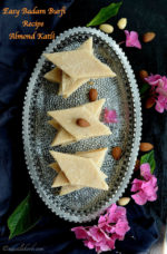 Easy Badam Burfi Recipe Almond Katli, Fudge