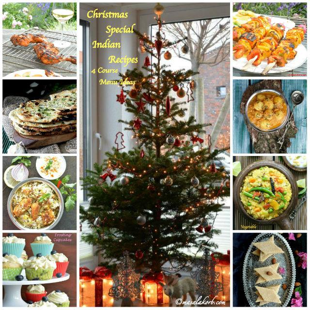 Christmas Special Indian Recipes Xmas Feast Menu Ideas