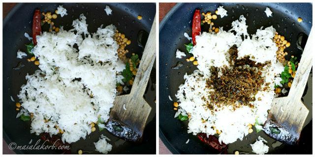 Karuveppilai Rice Recipe or Curry Leaves Rice Recipe