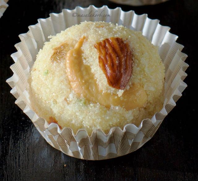 Coconut Rava Laddu Sooji Semolina Ladoo