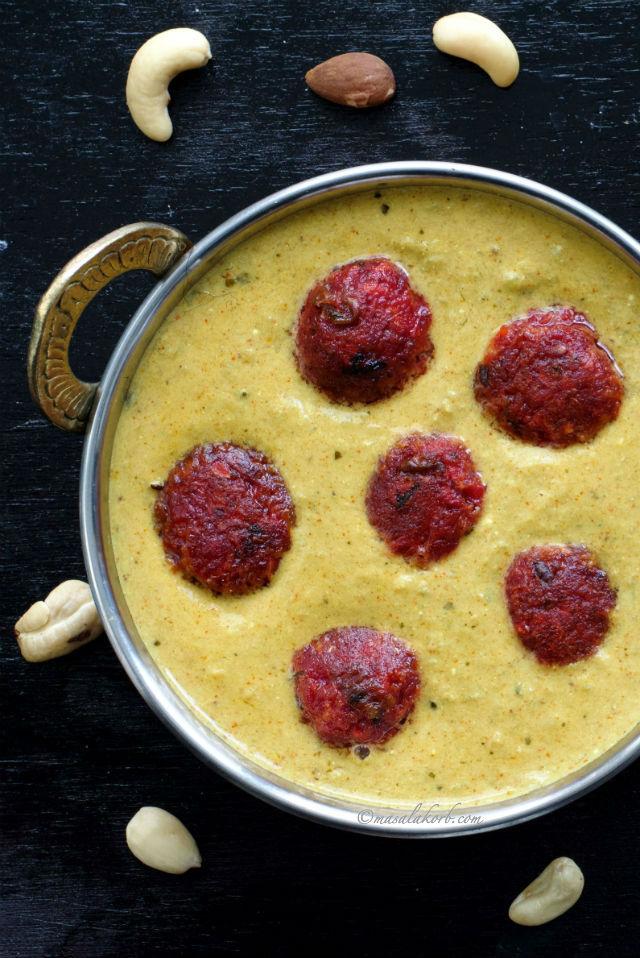 how to make meat kofta curry