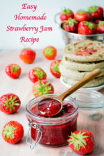 Easy Homemade Strawberry Jam Recipe Without Pectin