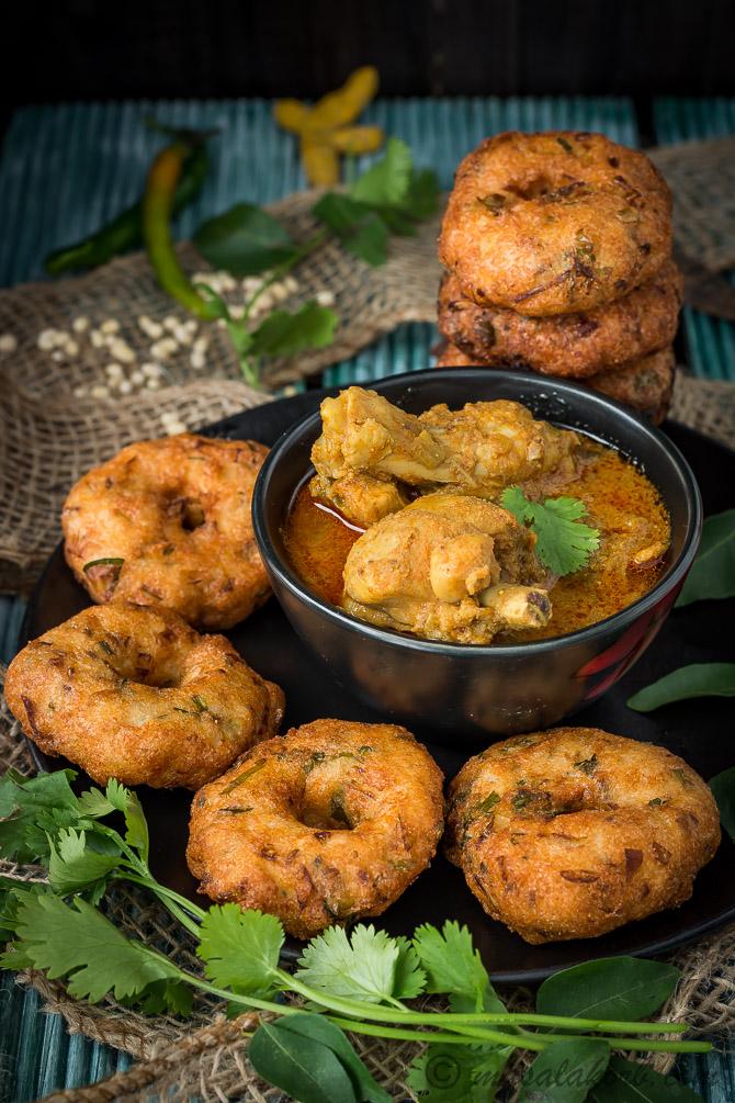 Garelu Chicken Curry | Minapa Garelu Andhra Kodi Pulusu ...