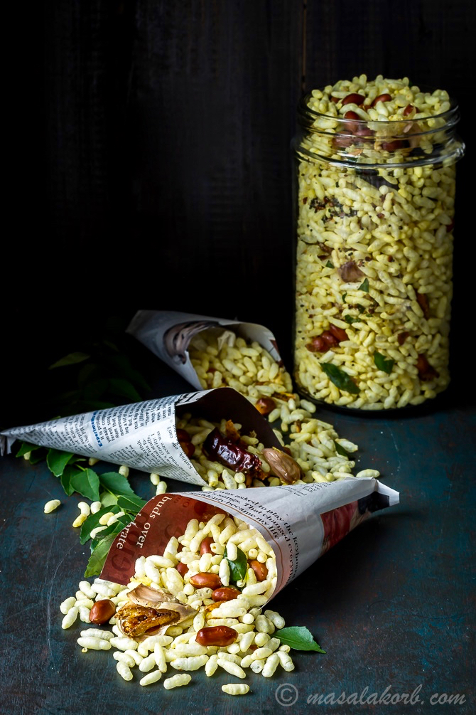 how to cook puffed rice