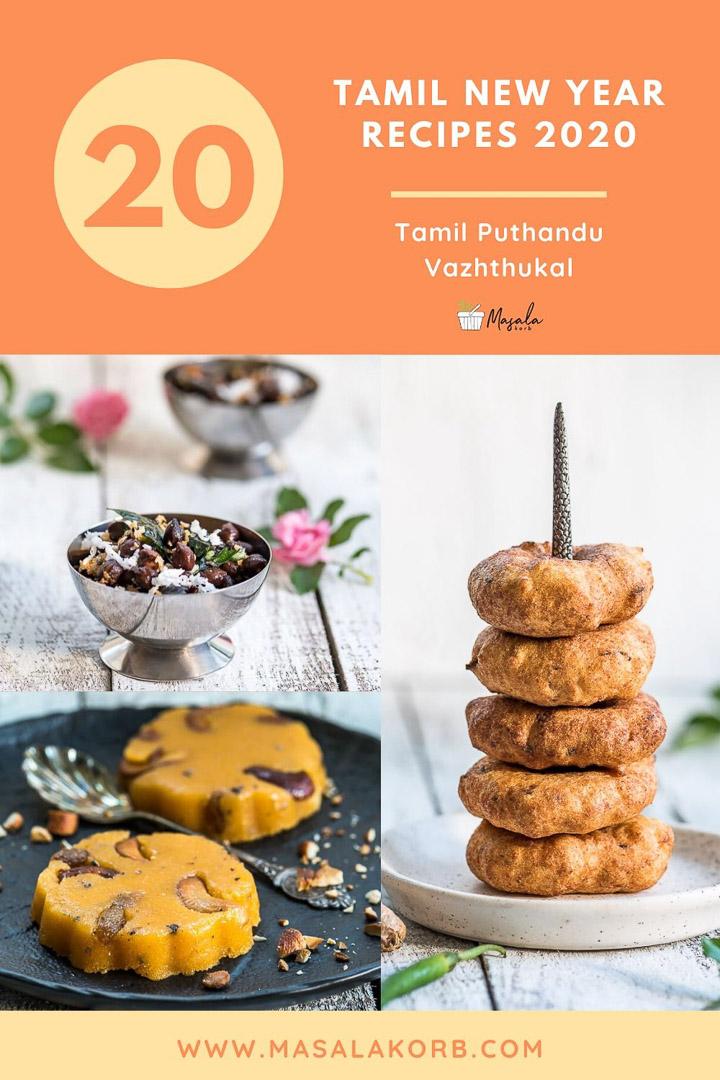Tamil New Year Recipes 2020 Tamil Puthandu Recipes Masalakorb